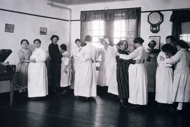 early 20th century insane asylums gay