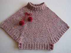 Ravelry: Poncho 022-T9-092 pattern by Phildar Design Team