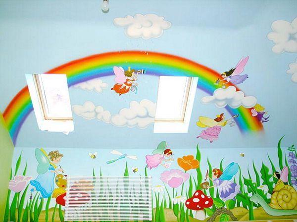 431 best images about art murials paintings etc on pinterest painted ceilings modern art - Painting nursery ceiling ideas tips ...
