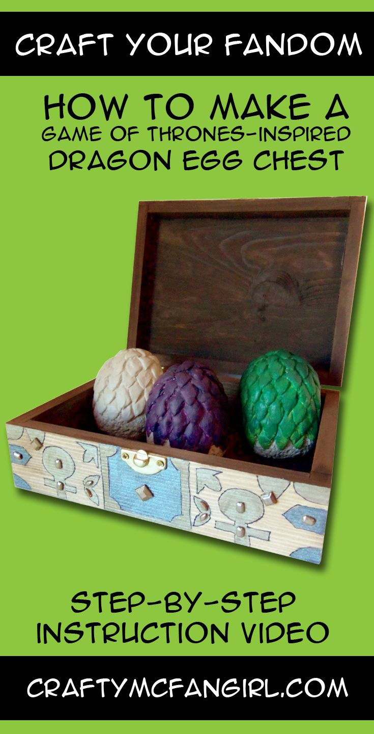 How To Create A Game Of Thrones Dragons Egg Chest Make This Diy Fantasy Room