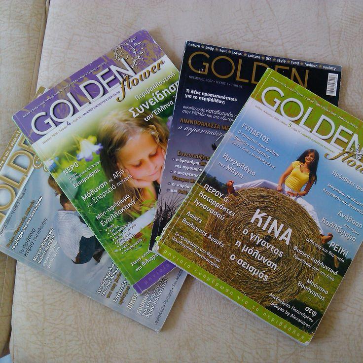 covers GOLDEN FLOWER MAGAZINE