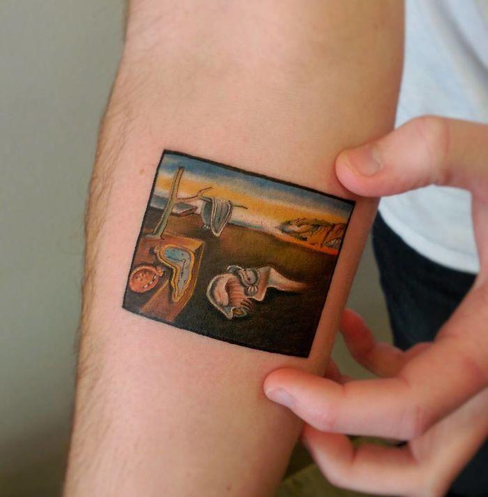 15 tatuaggi (che non avevi mai visto) ispirati a dipinti storici