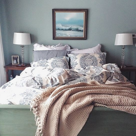 we could sleep all day in cozy bed with our lucianna medallion duvet find this pin and more on bedrooms by potterybarn
