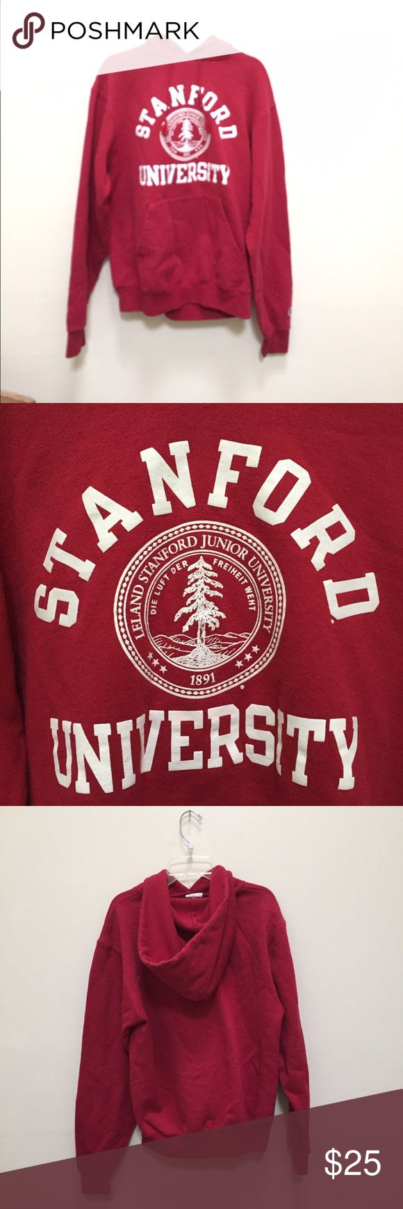 Stanford University Hoodie Champion Brand Stanford University Hoodie! Champion Tops Sweatshirts & Hoodies