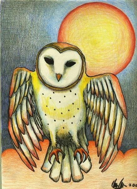 'Rising Owl' by Clancy Cavnar