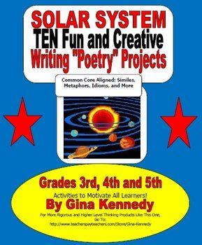 4th grade solar system study guide