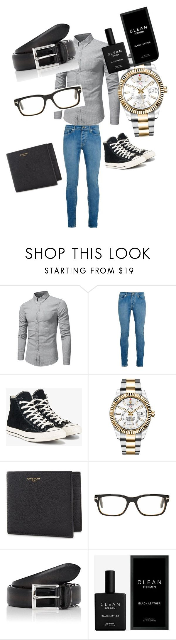 featuring Topman, Converse, Rolex, Givenchy, Tom Ford, Barneys New York, men's fashion and menswear
