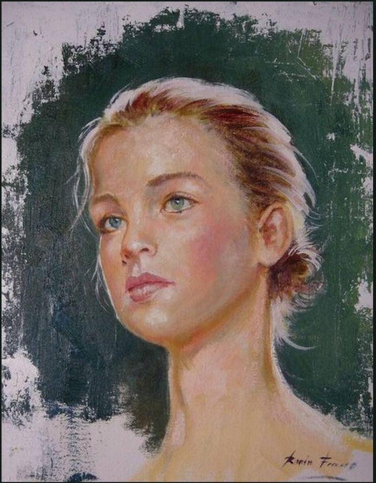 "Saatchi Art Artist Roman Frances; Painting, ""CANDELA"" #art"