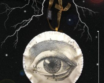 Anatomical Brain Hanging Decoration Gothic by SHERWOODMADEUK