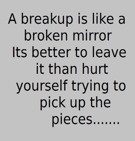 Breakup Quotes! 32 Positive, Funny, Beautifully Bitter-Free Moving On Thoughts from Pinterest