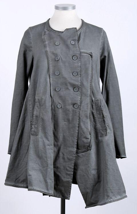 rundholz black label - Mantel Sweater Glockenform plankton - Sommer 2015 - stilecht - mode für frauen mit format...