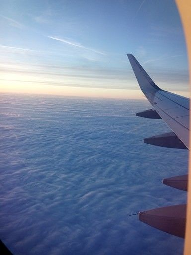 Flying to Russia