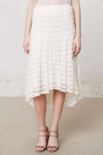 Dot lace skirt from Anthropology