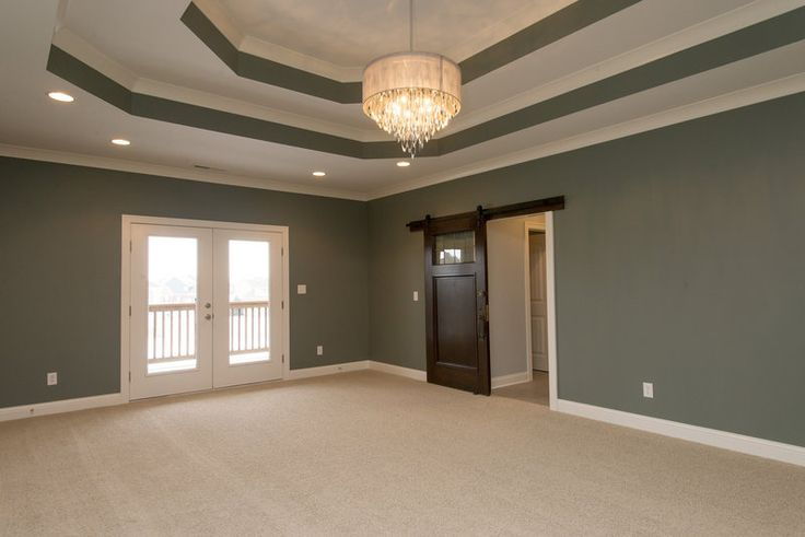 The Master Bedroom Retreat Coffered Ceilings Double
