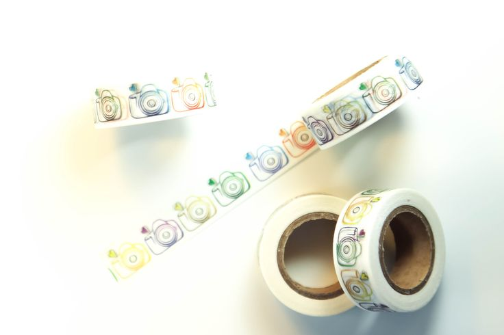 Camera Outlines Washi Tape - WT50