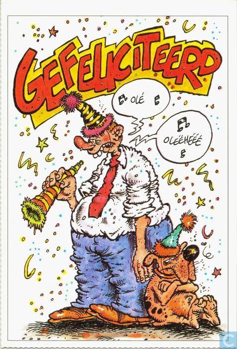 gefeliciteerd cartoons