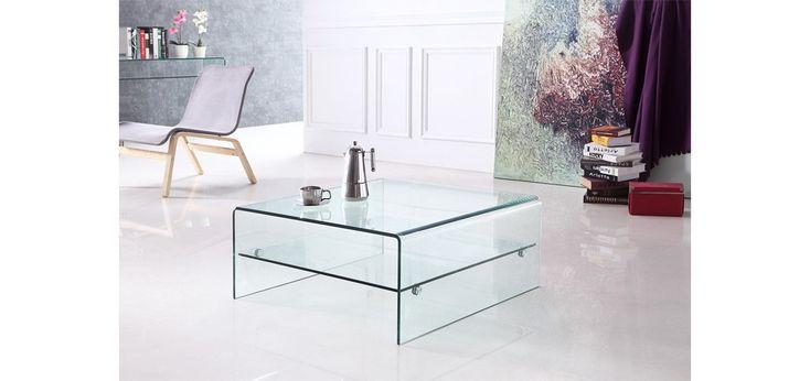 Table basse carrée Pure : choisissez nos tables basses carrées Pure à prix réduit-RDV Déco