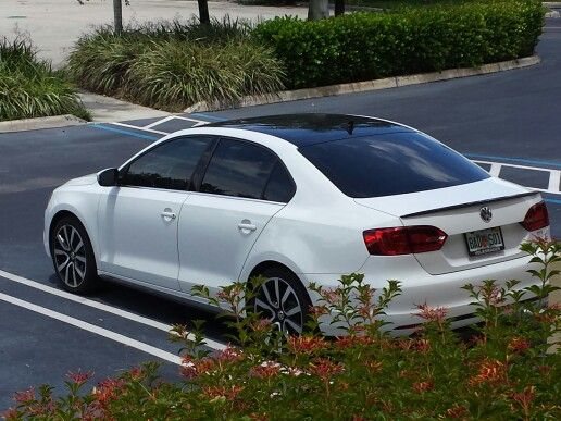 My Mk6 Jetta Tdi 18 Quot Gti Wheels 3m Vynil Roof With
