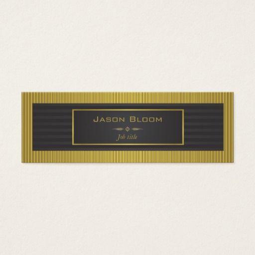 Gold trim and black stripes