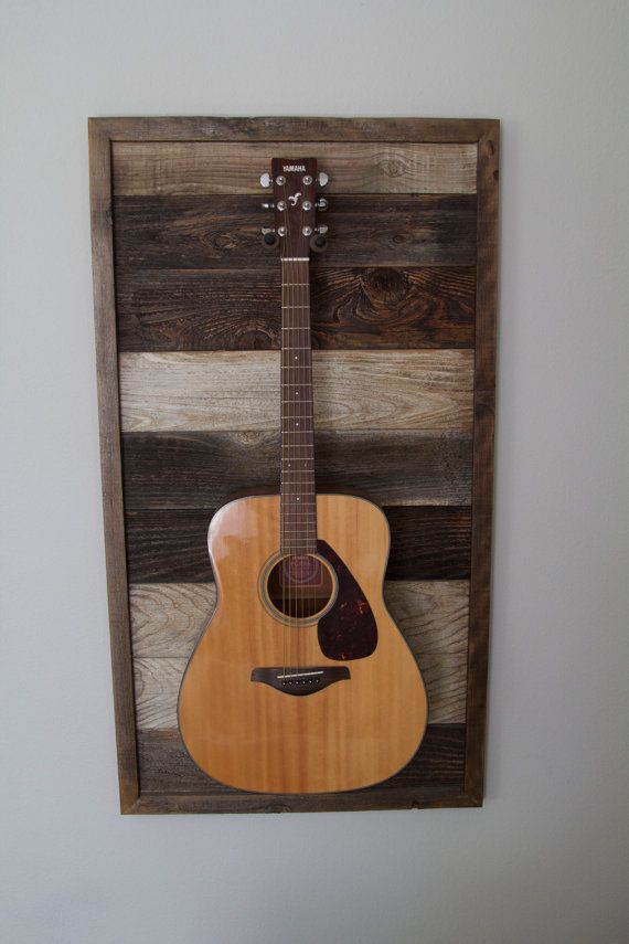 Guitar Frame Wall Mount Made to Order by thedigsCA on Etsy