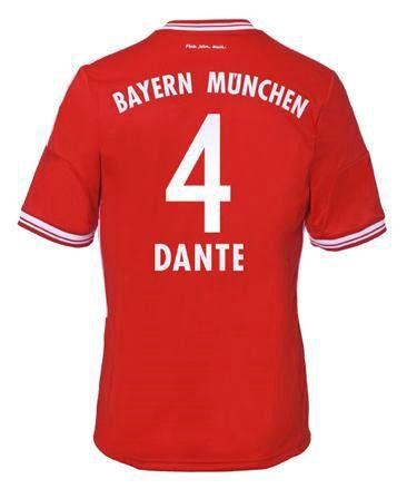 Maillot de Foot Bayern Munich (4 Dante) Domicile Adidas Collection 2013 2014 rouge Pas Cher http://www.korsel.net/maillot-de-foot-bayern-munich-4-dante-domicile-adidas-collection-2013-2014-rouge-pas-cher-p-2397.html