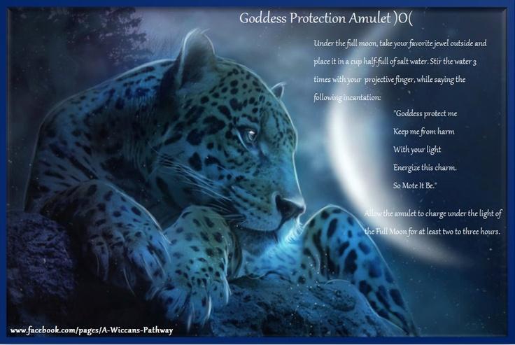 Goddess Protection Amulet