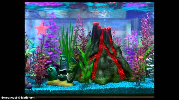 Finding Nemo Fish Tank Volcano Scene Google Search