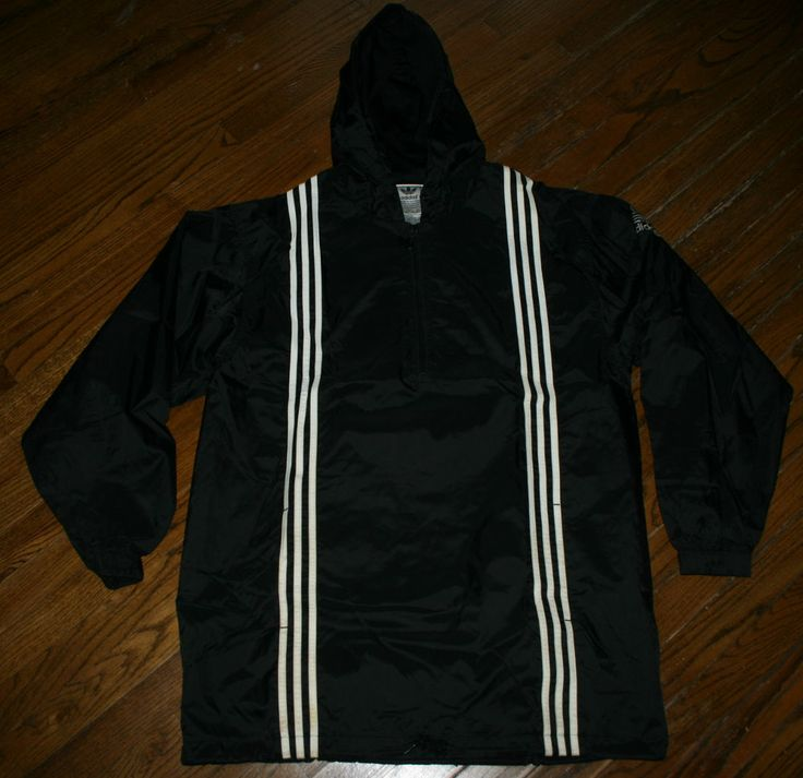 Vintage Adidas Half-Zip Pullover Windbreaker Running Cycling ...