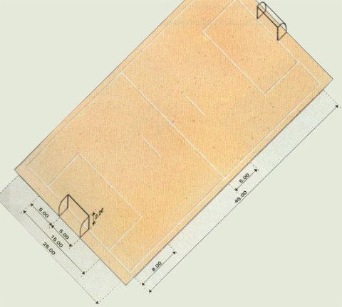 Medida certa: confira as dimensões de 10 quadras esportivas