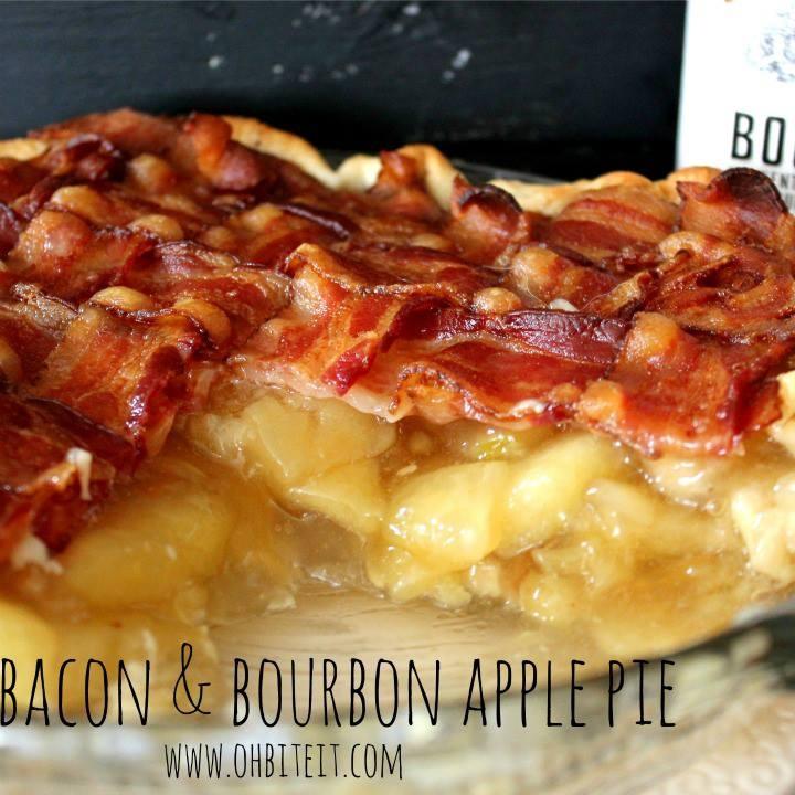 Bacon  Bourbon Apple Pie