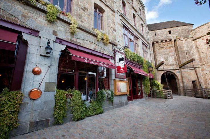 Hotel & Restaurant Mont-Saint-Michel, La Mere Poulard;  excellent food, famous butter cookies