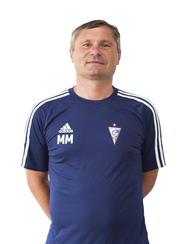 trener bramkarz Marek Matuszek