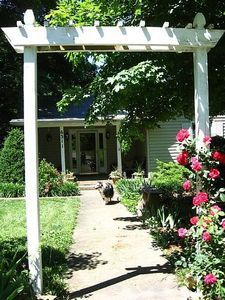 Garden Arbor Ideas find this pin and more on outside ideas garden arbors How To Build A Simple Decorative Garden Arbor For About 50