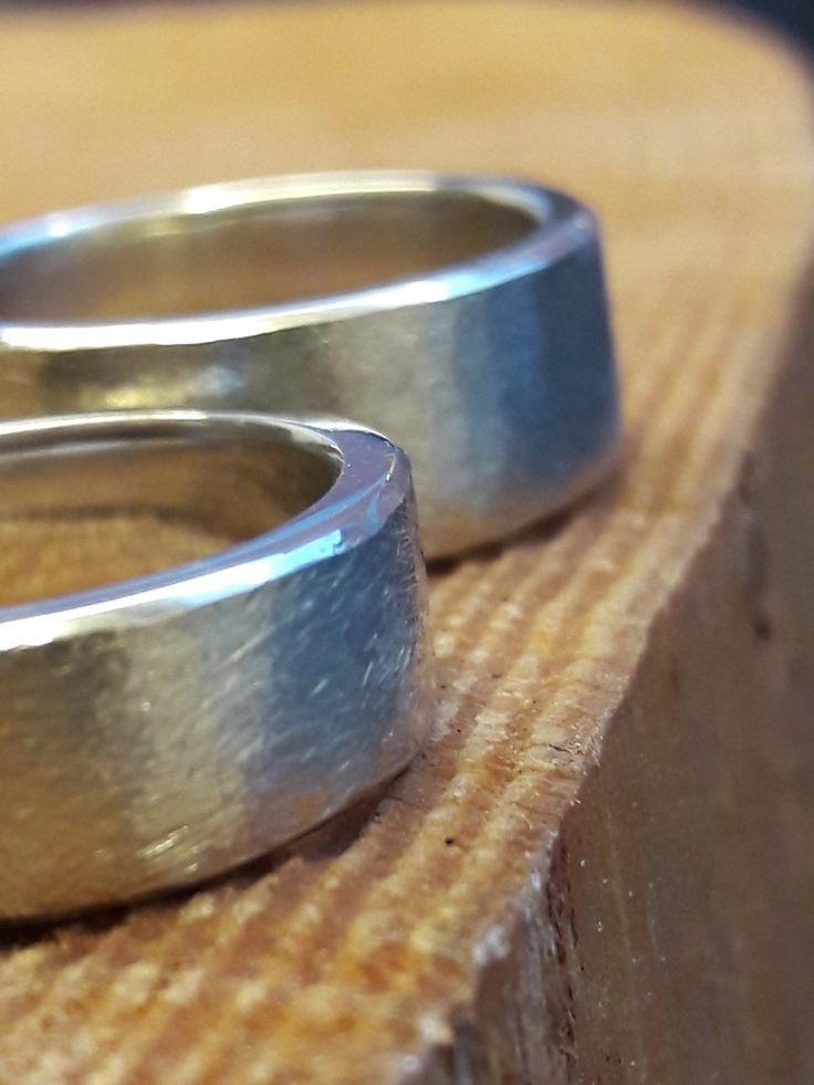 #handstark#handmade#eheringe#weissgold#trauringe#goldschmied