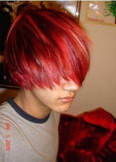 red hair guy   My Hair Emo: Red Emo Hair Guys