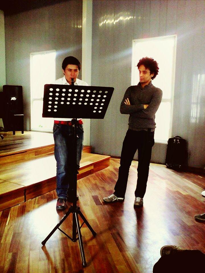 Master class with Benito Meza