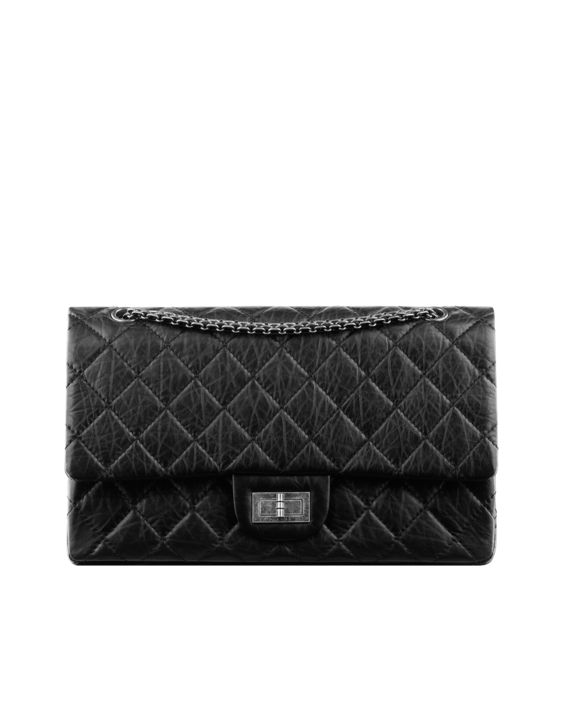 Chanel Reissue (227) 2.55 Flap Bag with Ruthenium Hardware