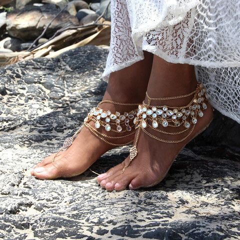 Izabella Barefoot Sandals