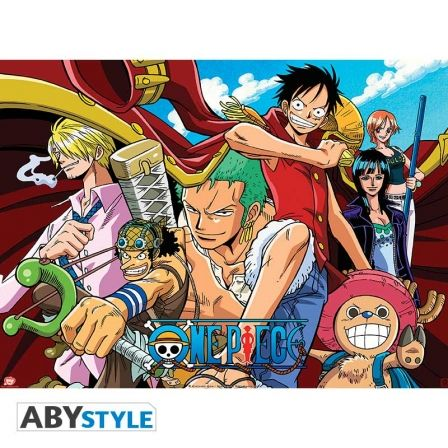 ONE PIECE Poster One Piece pirates all stars (52x38)