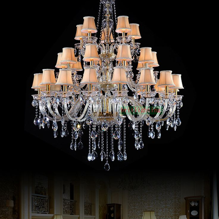 fashionable Luxury Chandeliers Lighting Maria Theresa crystal Chandeliers classic candle holder glass crystals for chandeliers living room décor * AliExpress Affiliate's Pin.  Detailed information can be found on AliExpress website by clicking on the image