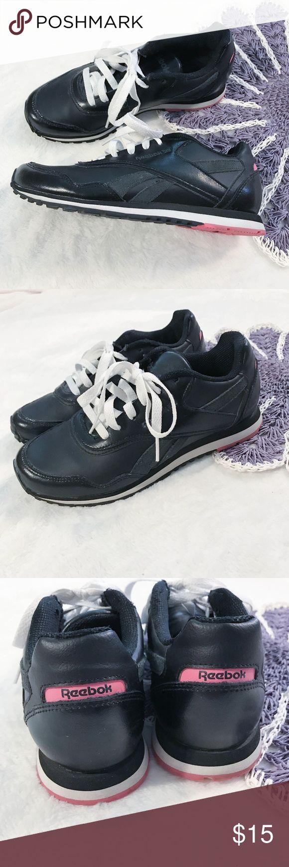 43fb65f2c3e ... Reebok Black   Pink Sneakers ...