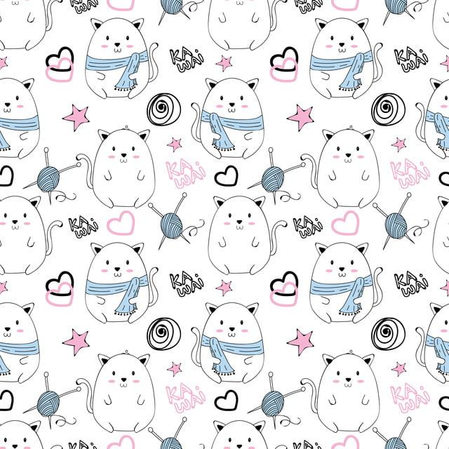 Vector Seamless Pattern With Cute Panda Pattern For Fabric Baby Clothes Background Textile Wrapping Paper And Other Decoration Panda Lindo Patrones Aztecas Patron Tribal