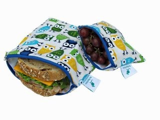 The Sling Sisters Snack Bags make litterless lunches easy! Made in Canada and sold in Calgary at Adventures of Little.