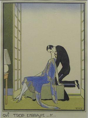 Qui Trop Embrasse... by Ettore Tito