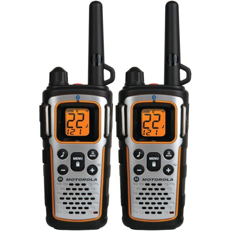 Motorola 35-mile Talkabout Bluetooth 2-way Radios