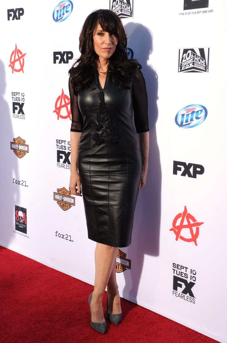 "Katey Sagal arrives at FX's ""Sons of Anarchy"" Season 6 Premiere Screening and Party. #SOAFX"