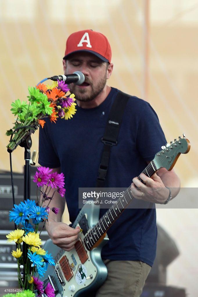 Jesse Lacey of Brand New performs during Bunbury Music Festival on June 7, 2015 in Cincinnati, Ohio