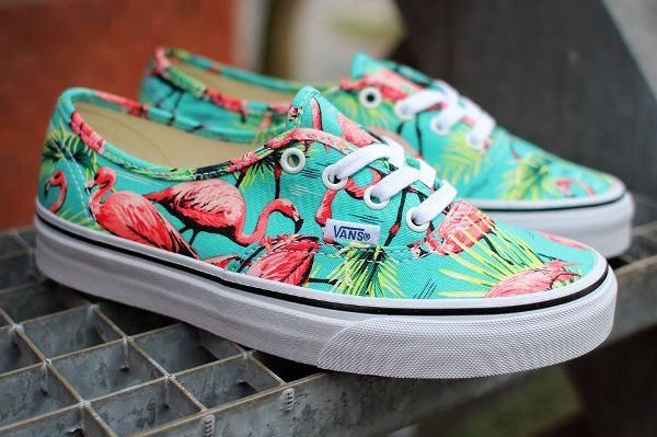 Vans Authentic Turquoise Flamingo (Flamant rose) post image