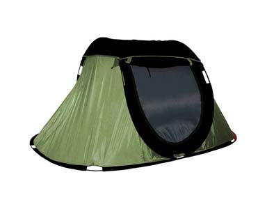 Just right for my retirement/road trip.            2-Person Pop Up Camping Tent | Screen Roof | 3 Second Quick Set