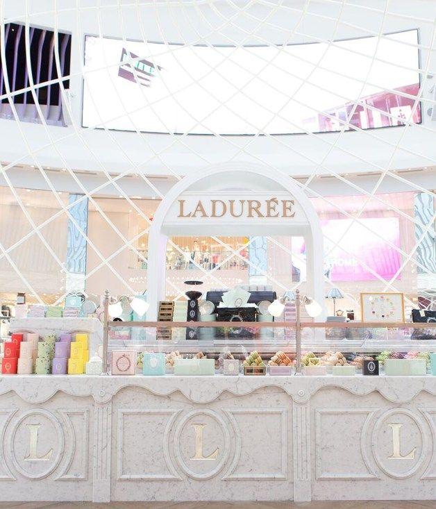 Laduree, Chadstone Shopping Centre | Carrara Marble installed by KAYSTONE, AUSTRALIA